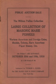 Public auction sale of the William Poillon collection. Part 4. [10/25/1918]