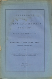 CATALOGUE OF COINS AND MEDALS.