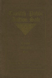 Catalogue of the twelfth public auction sale of coins ... [06/19/1907]