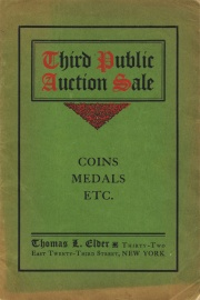 Catalogue of third public auction sale ... [01/26/1906]