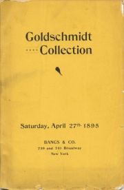 Collection of United States Coins Including Numerous Mint Marks Also A Fine Line of Fractional Currency Belonging to Mr. Edward Goldschmidt of New York City.