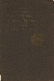 Catalogue of the forty-seventh public sale ... the properties of D. Walters ... J. Barnet ... [01/13/1911]