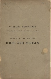 CATALOGUE OF THE NUMISMATIC COLLECTION OF FRANCIS S. HOFFMAN, ESQ., OF NEW YORK.