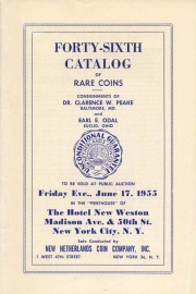Forty-sixth catalog of rare coins. [06/17/1955]