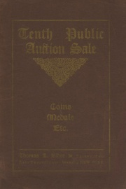 Catalogue of the tenth public auction sale of coins ... the properties of the Prime estate, George Anders, John Dow, George Devere and others. [05/06/1907]