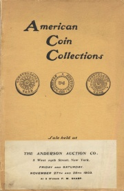 Catalogue of American coins ... [11/27/1903]