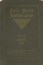 Catalogue of the fifth public auction sale of a large and valuable collection of coins ... [05/31-06/01/1906]